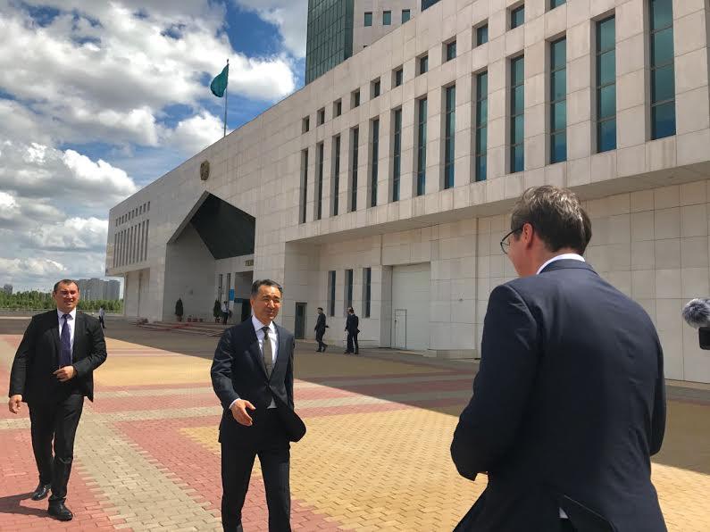 Kazahstan: razgovarali Vučić i premijer Sagintajev