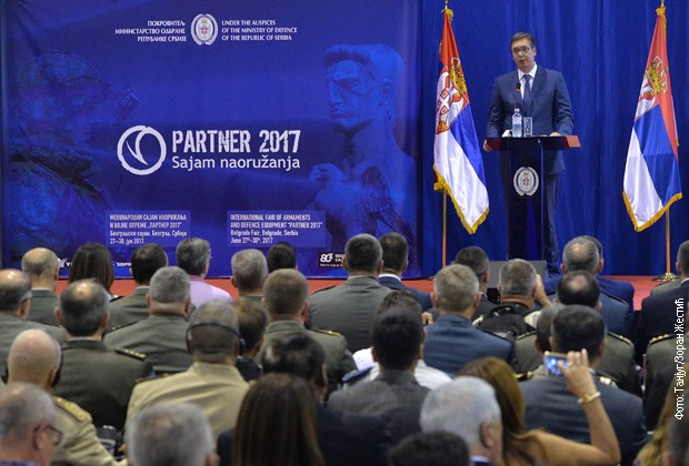 Vučić otvorio Sajam naoružanja i demantovo da je bilo pritisaka da Vulin ne bude ministar odbrane