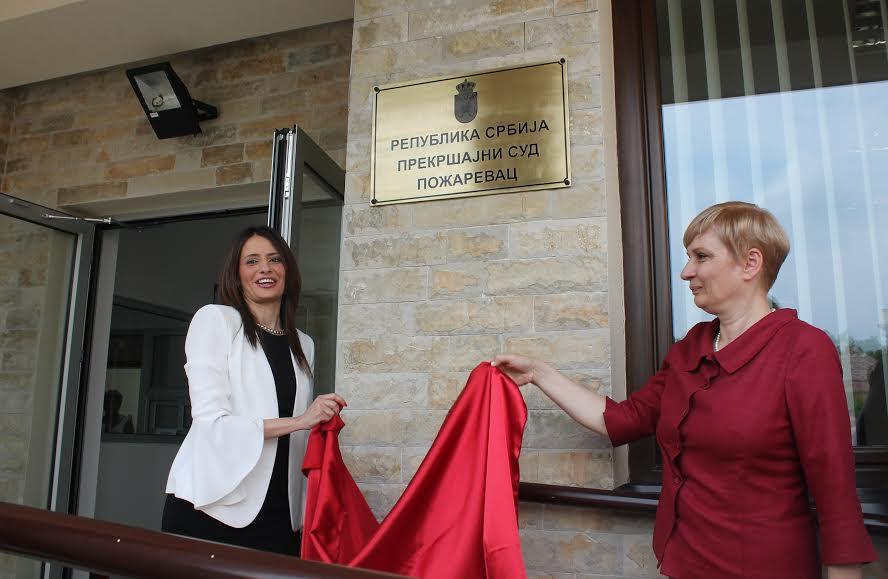 Požarevac: Kuburovićeva otvorila novu zgradu Prekršajnog suda
