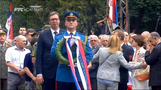 Debeljača: Otkriven spomenik hrabrom vojniku Tiboru Cerni