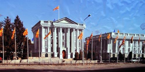 Makedonija: novinari prviput posetli prostorije Vlade