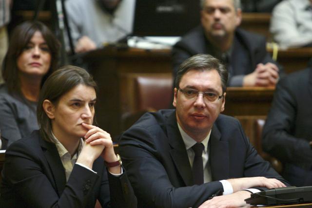 Konferencija za medije Aleksandra Vučića: Ana Brnabić premijerka