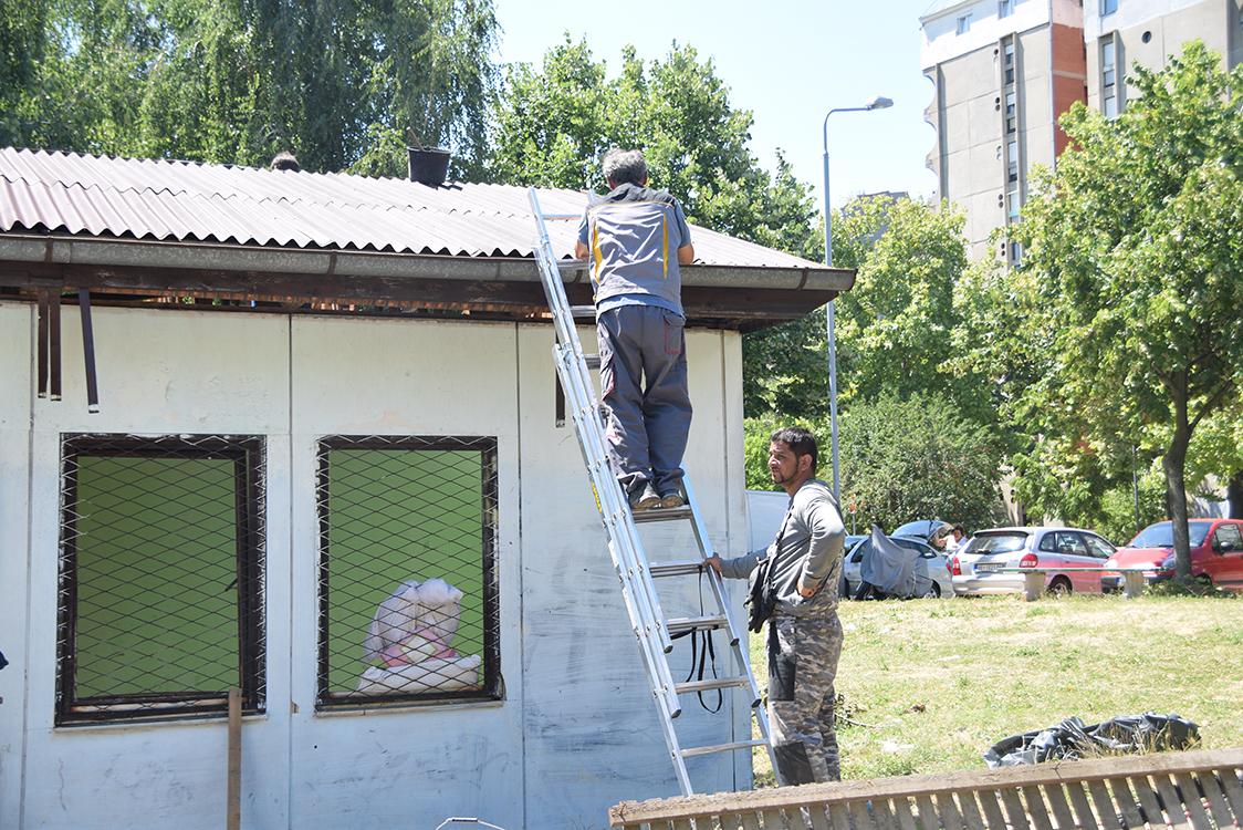 Združenom akcijom građna sprečeno rušenje romske barake u Rakovici