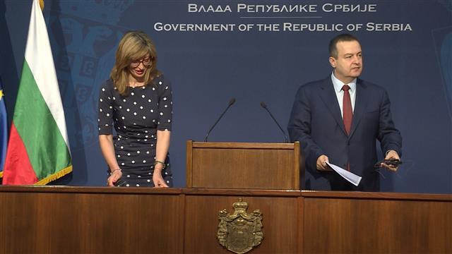 """Konferencija za medije dva ministra – Dačića i Zaharijeve: """"gde god da krenemo – čeka nas Kosovo!"""""""