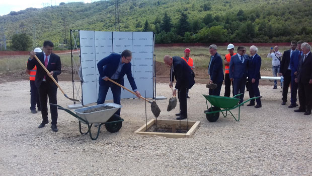 Niš: Vučić položio kamen temeljac za fabriku rasvetnih uređaja