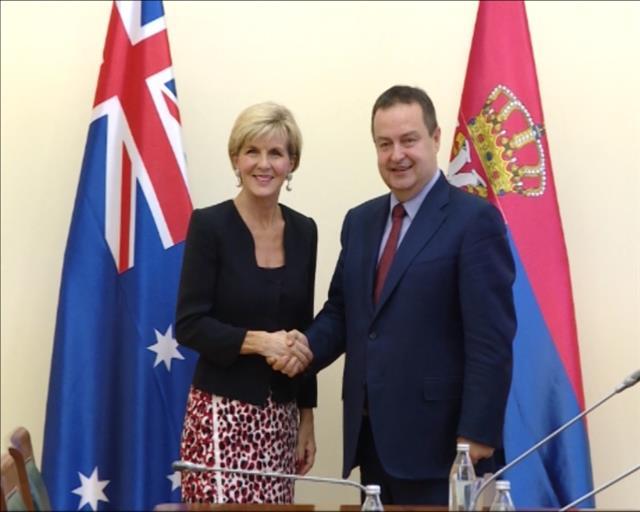 Ivica Dačić razgovarao sa australijskom koleginicom Đuliom Bišop