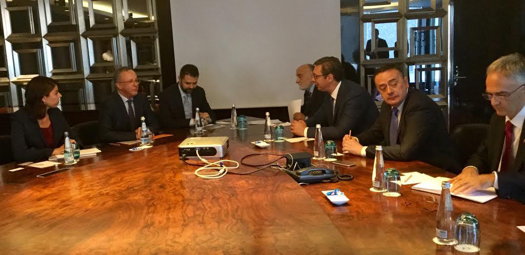 Istanbul: Vučić sa predstavnicima Taj grupe