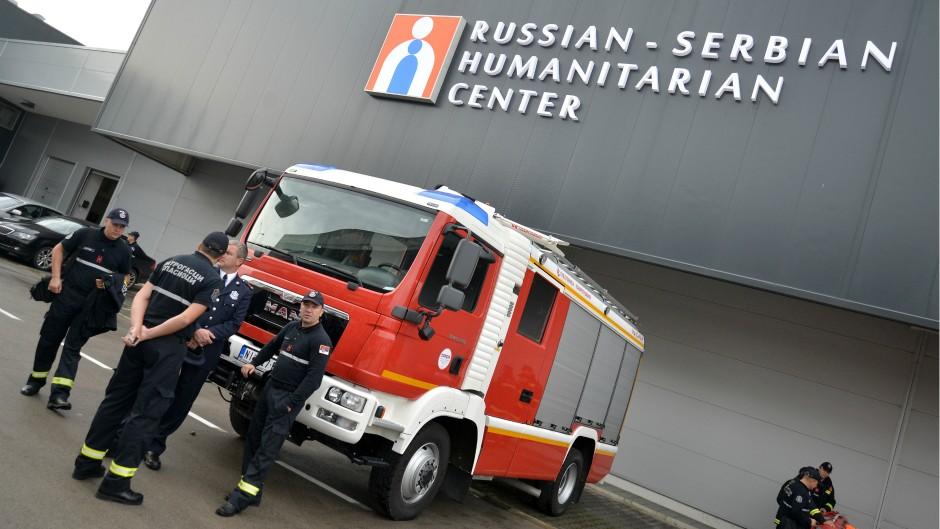 SRS: Umesto ruskim humanitarcima – diplomatski status daje se  činovnicima EU