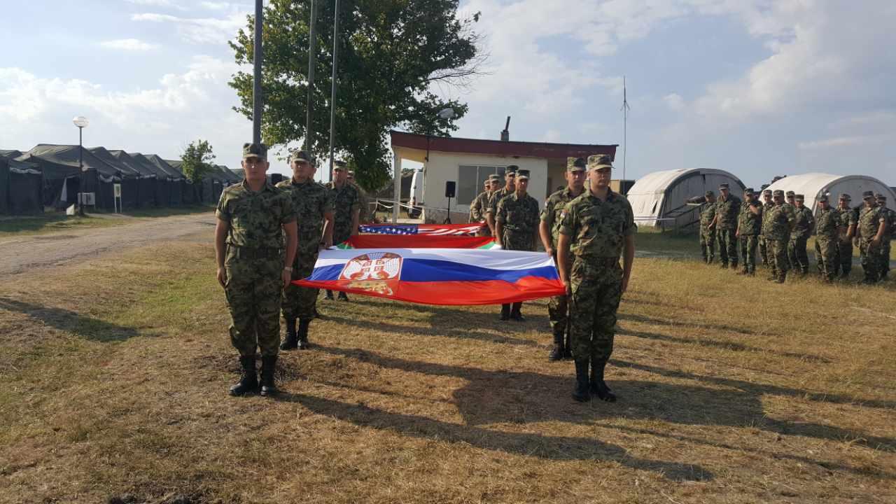 "Vojska Srbije na multinacionalnoj vežbi ""Saber Guardian 17"""