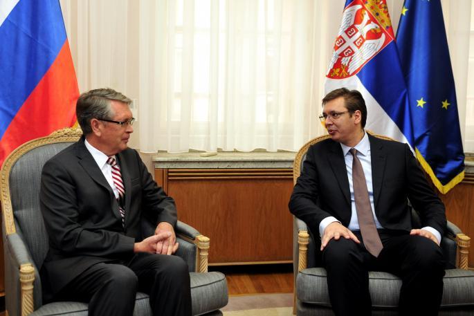 Vučić primio ambasadora Čepurina: odnose Srbije sa Rusijom niko ne može da pokvari