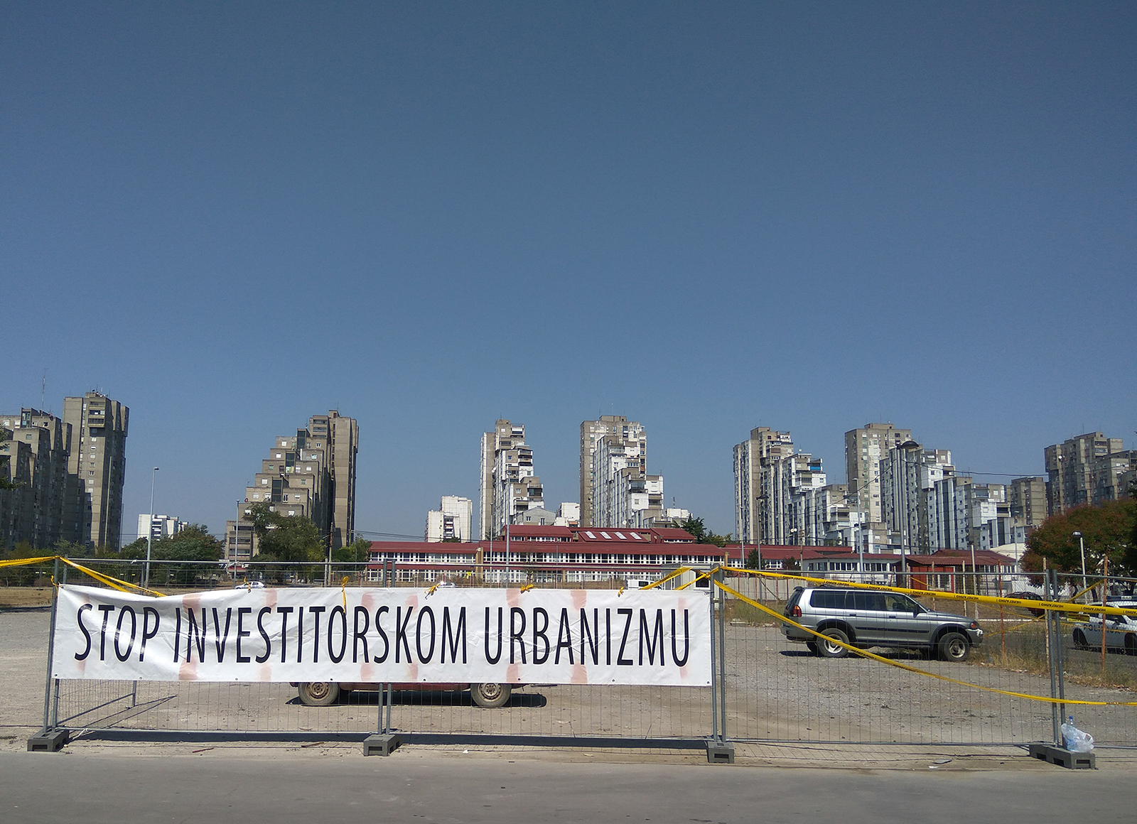 Novi Beograd – Blok 45: Stop izgradnji benzinske pumpe