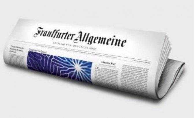 """Frankfurter Algemajne Cajtung o Dačićevom članku koji ima """"vrlo ratnički i istorijski prizvuk…"""""""