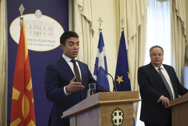 Danas: Grčki šef diplomatije gost Makedonije