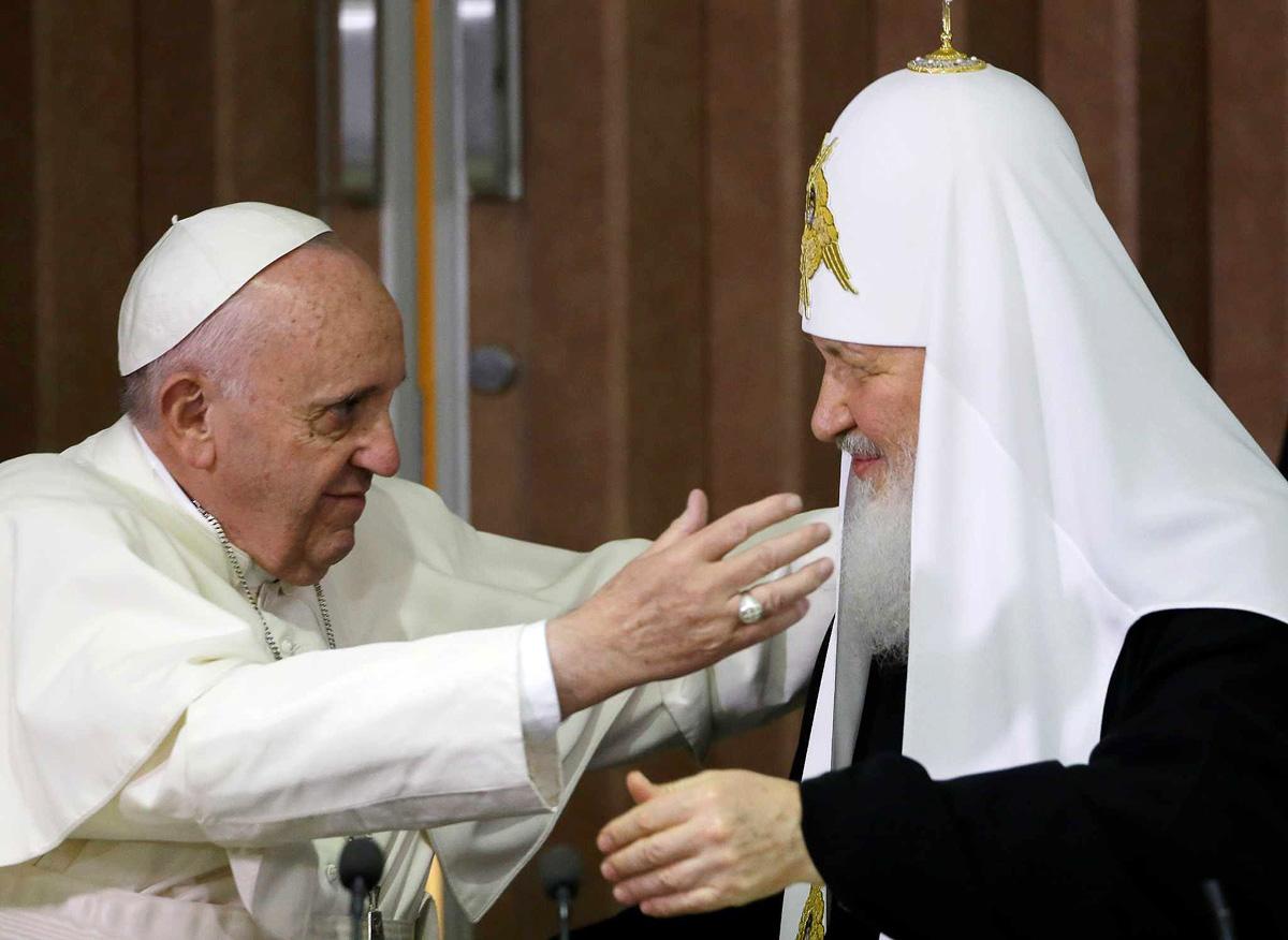 Papa Franjo planira da poseti Moskvu