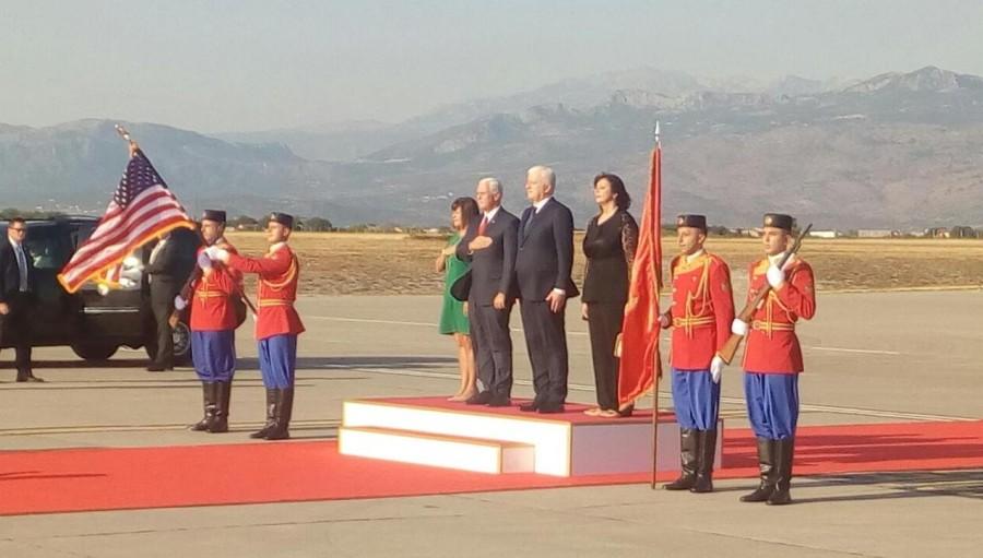 Podgorica: Američki potpredsednik u zvaničnoj poseti Crnoj Gori