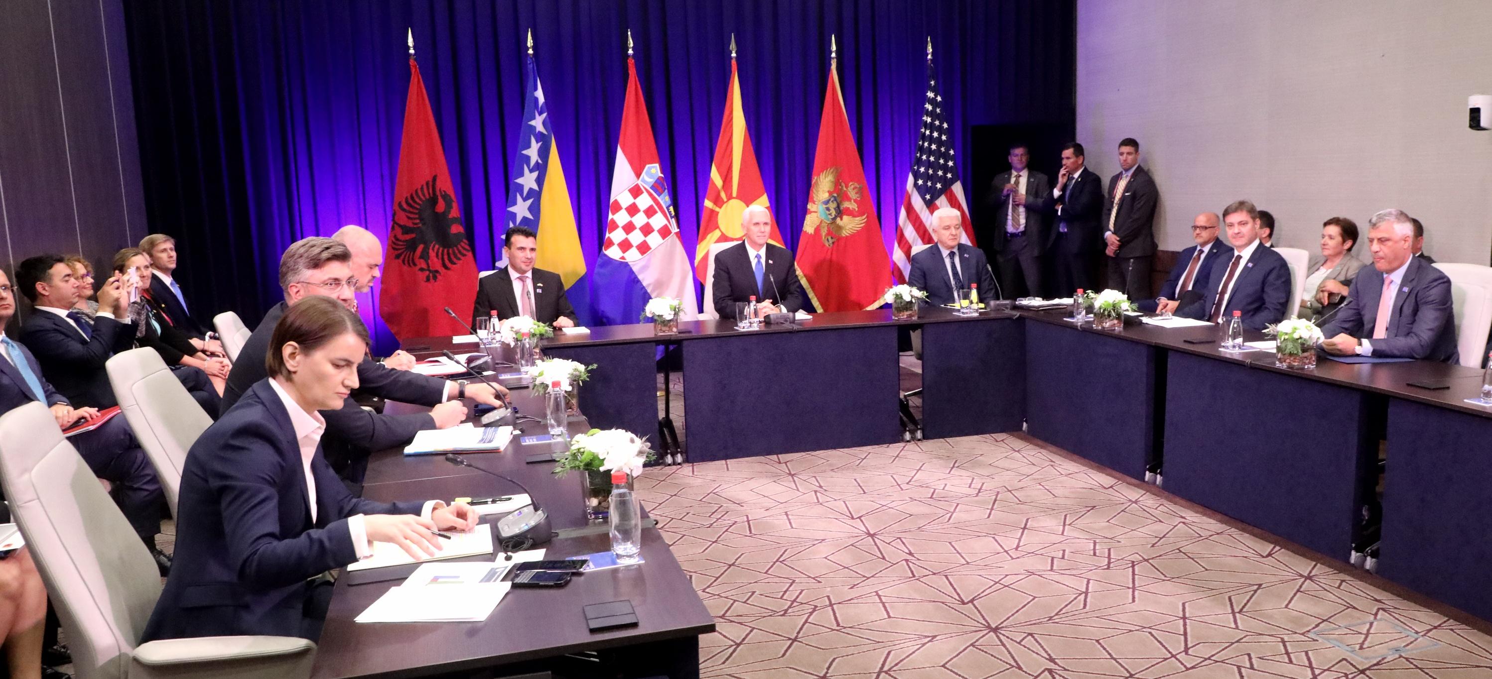 Ana Brnabić na Samitu Američko – jadranske povelje poručila: Srbija je pouzdan partner Alijanse
