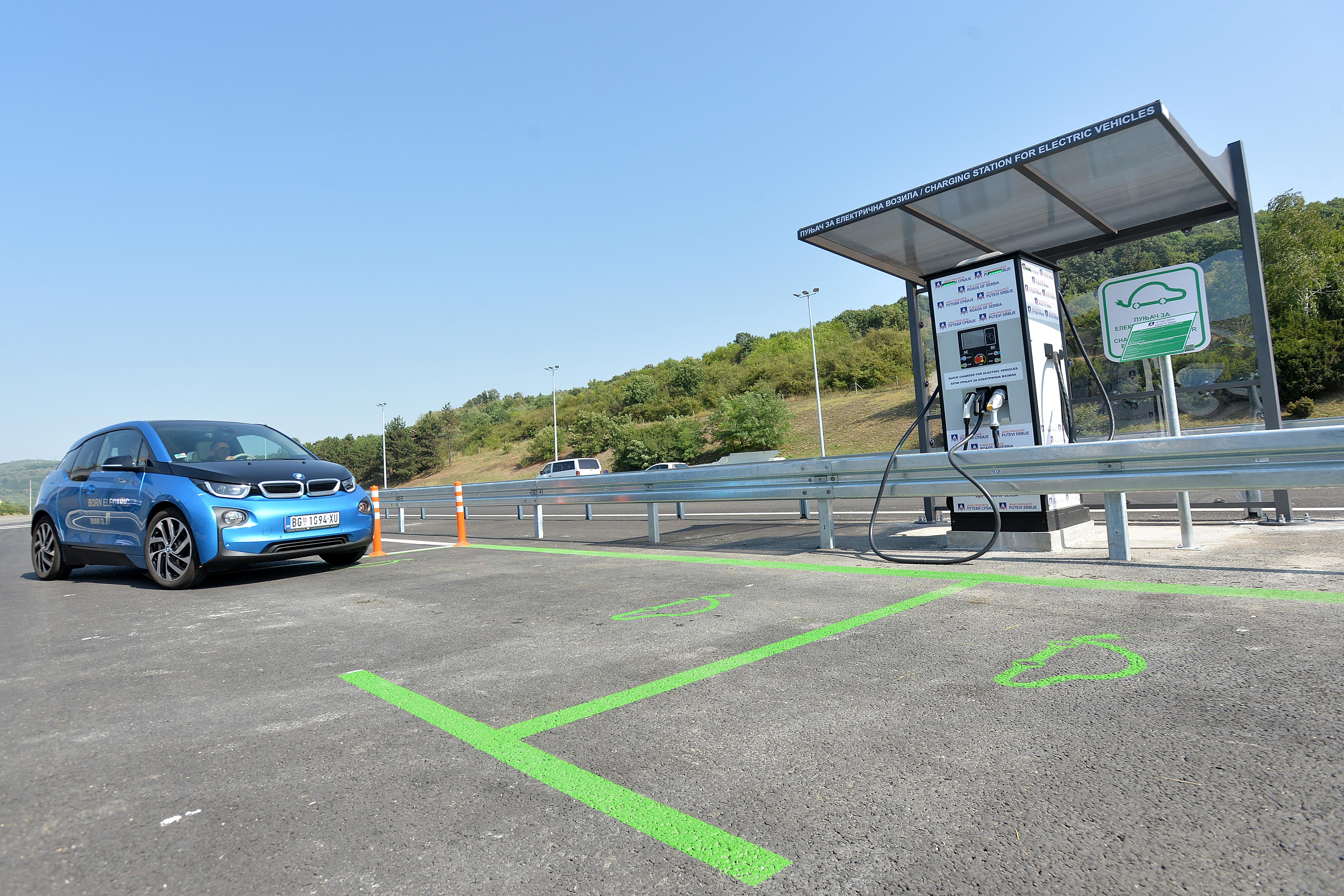 Bubanj potok: besplatni punjać za električne automobile