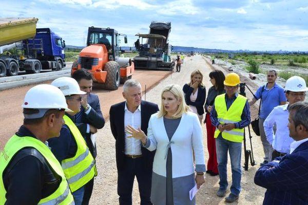 Zorana Mihajlović povodom Dana građevinara: Za tri godine broj gradilišta uvećan deset puta
