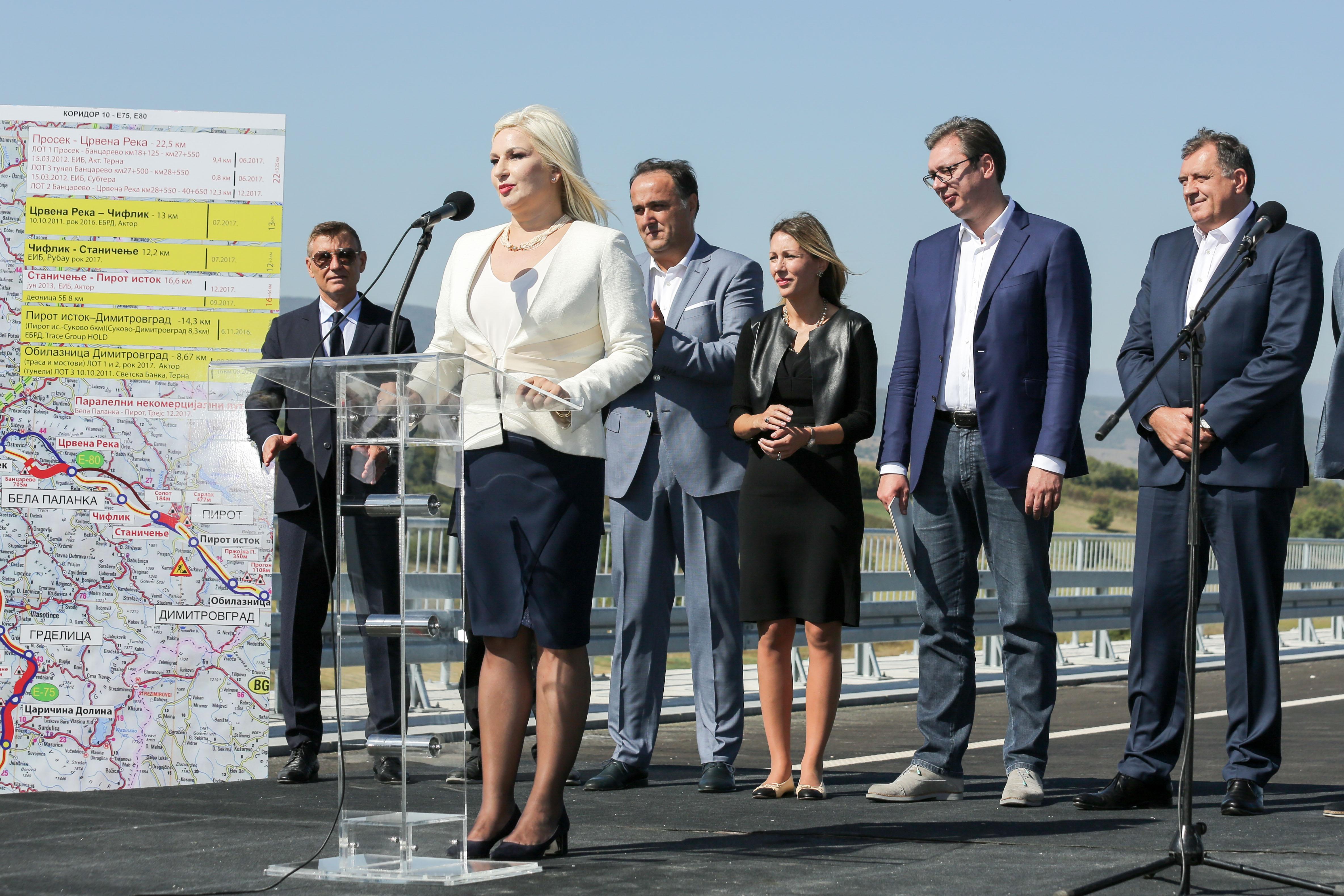 Zorana Mihajlovićeva: Naš posao je da gradimo puteve i da se povezujemo