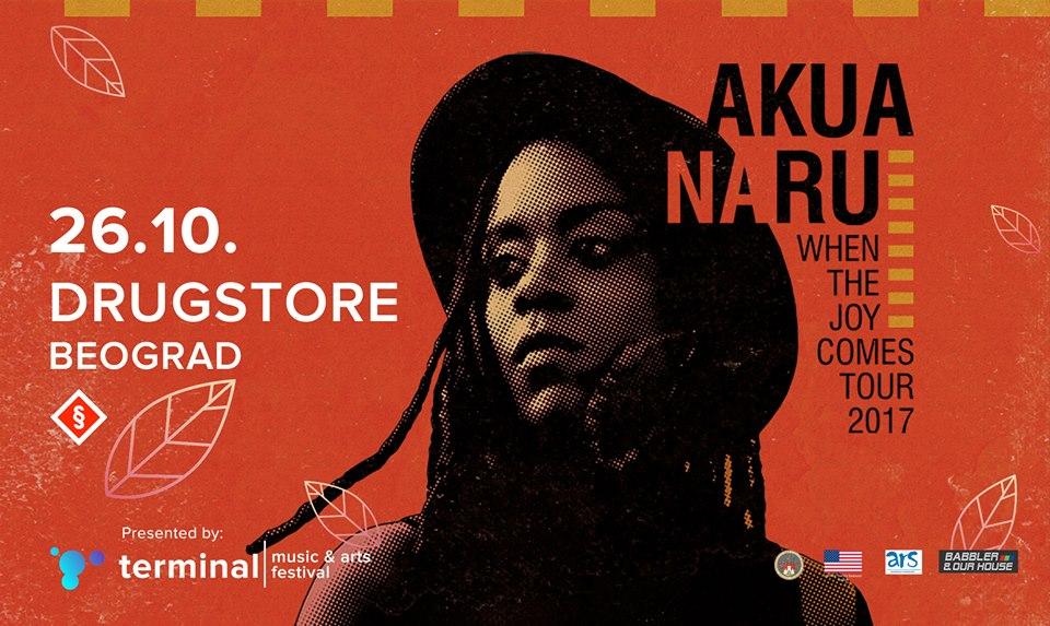 Akua Naru 26. oktobra u klubu Drugstore Beograd