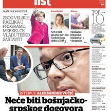 Intervju Aleksandra Vučića Večernjem listu.bh: Verujem da ćemo dobiti podršku Hrvatske na putu ka EU
