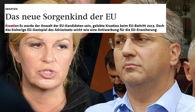 Berner Zajtung: Hrvatska se pretvorila u problematično dete EU