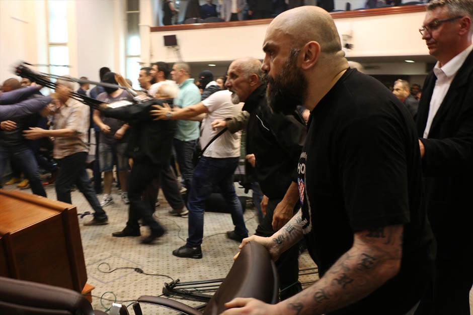 Kumanovo: uhapšen Igor Jug – jedan od batinaša u Sobranju Makedonije