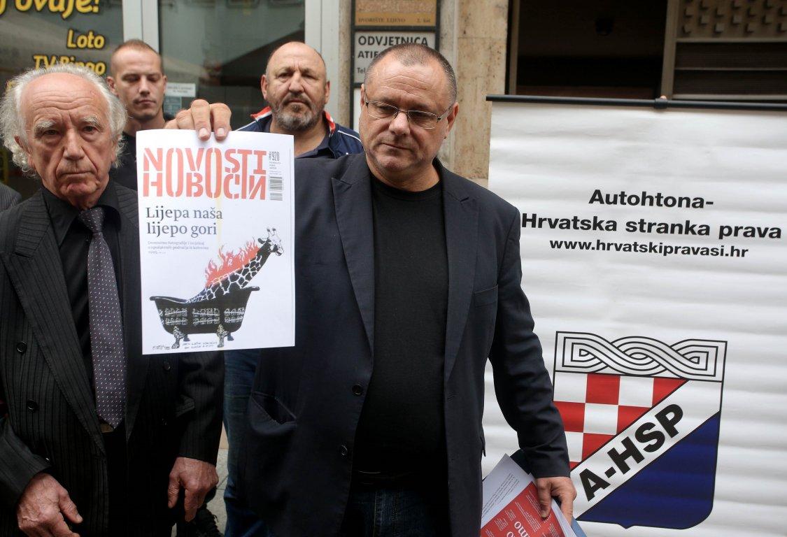 Zagreb: i Srbin palio srpski nedeljnik Novosti