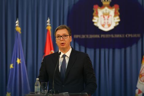 """Konferencija za medije Aleksandra Vučića: """"podržavam odluku da Srbi uđu u Haradinajevu vladu"""""""
