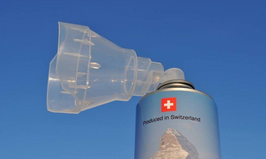 Švajcarci Kinezima prodaju konzervisani alpski vazduh