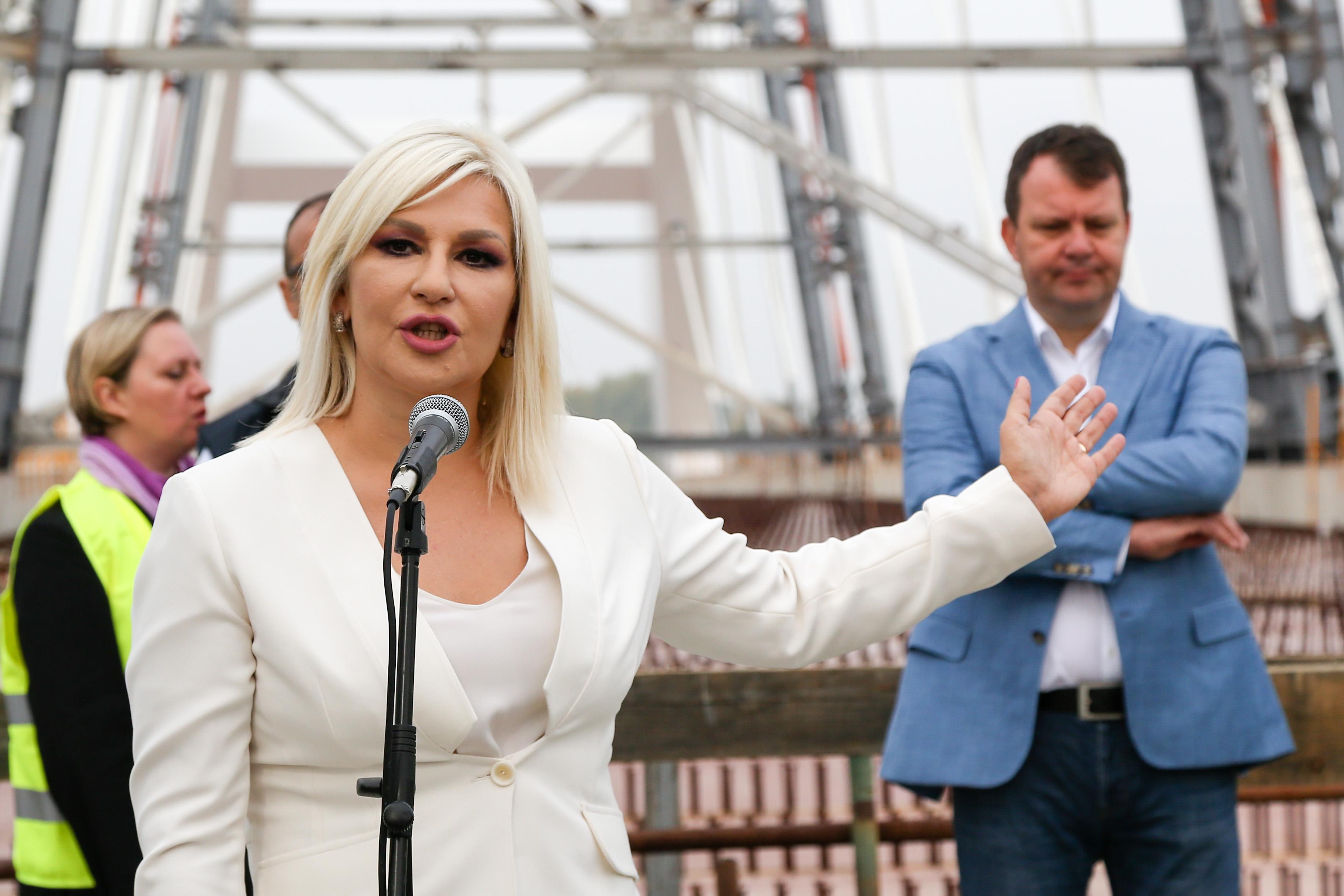 Zorana Mihajlović: Žeželjev most spaja ružnu prošlost i sjajnu budućnost