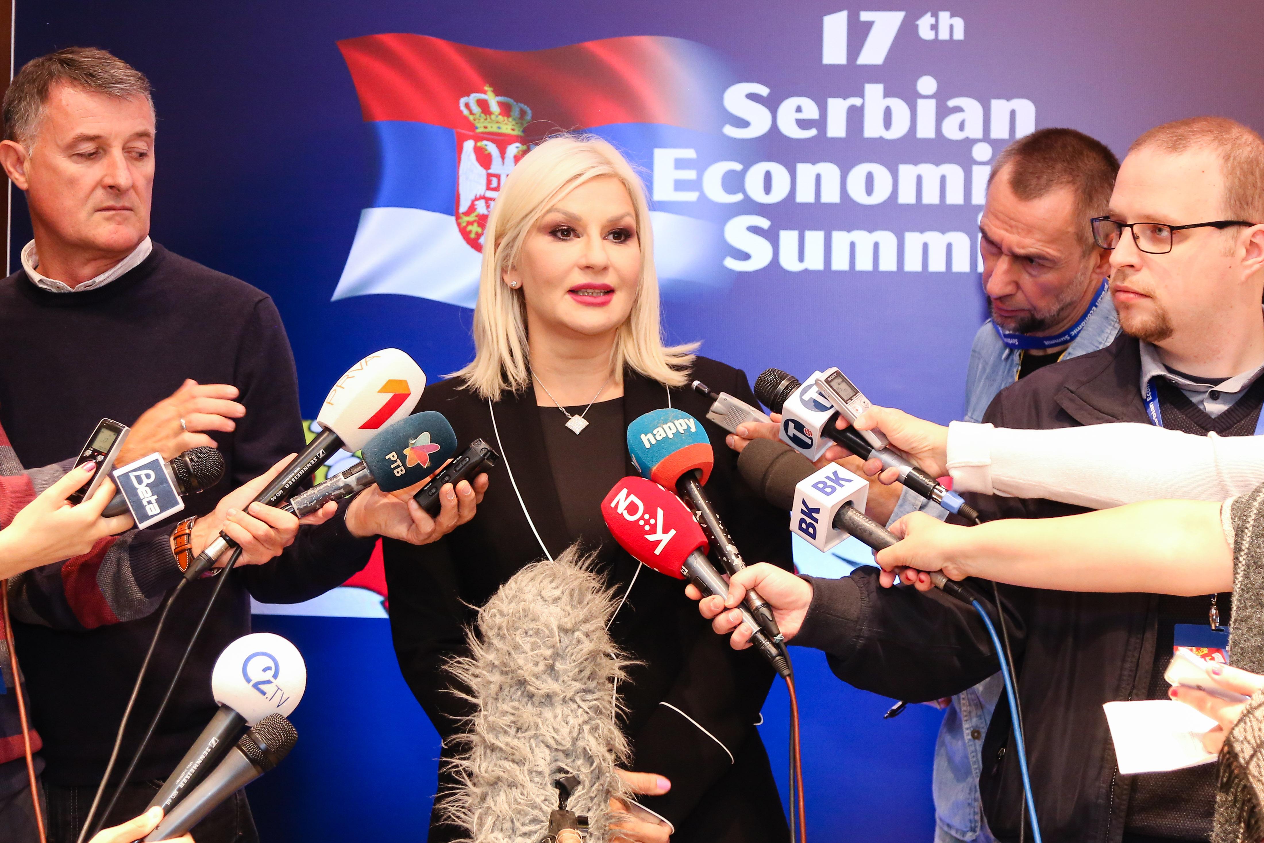 """Mihajlovićeva na ekonomskom samitu citirala Hanibala: """"Ili ćemo pronaći put ili ćemo ga napraviti!"""""""