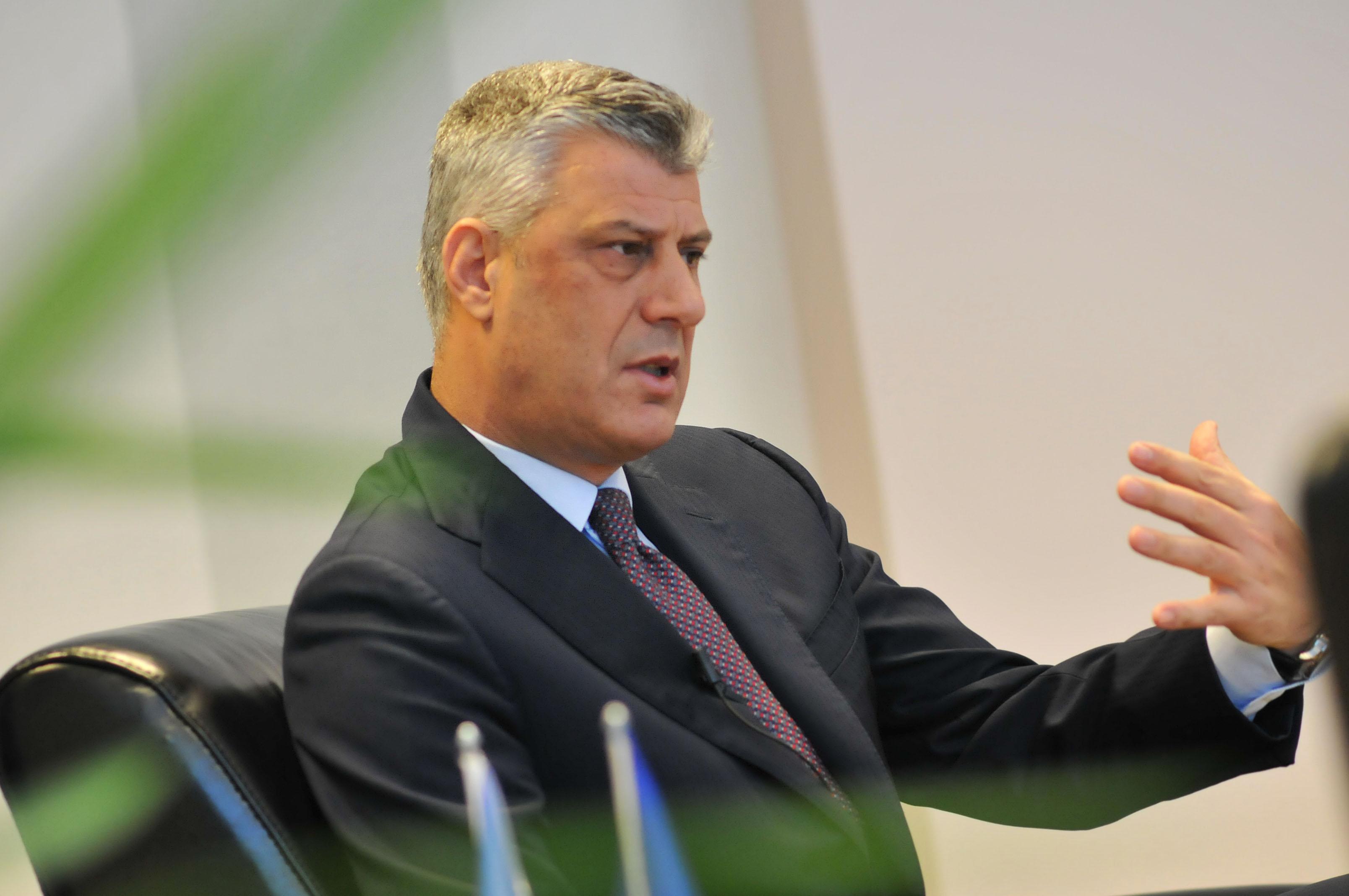 Hašim Tači se žali: EU diskriminiše Kosovo, BiH, Albaniju i Makedoniju!