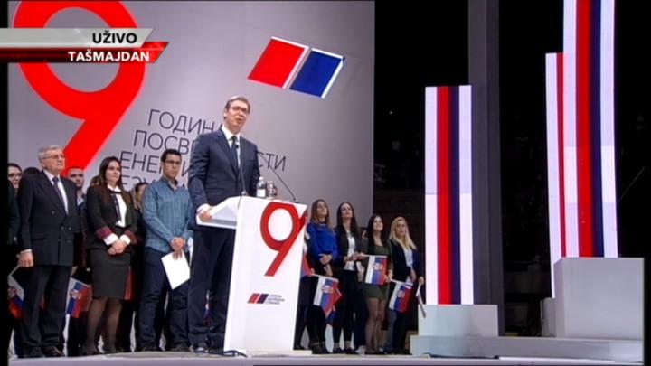 Devet godina Srpske napredne stranke