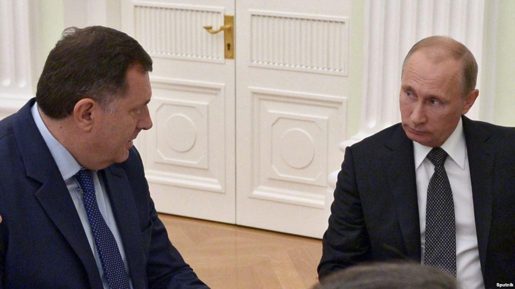 Šta Rusi žele na Balkanu i kakva je tu uloga Dodika i Čovića?