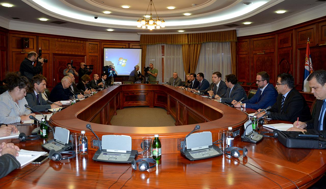 Sednica Radne grupe za pružanje podrške vođenju dijaloga o KiM