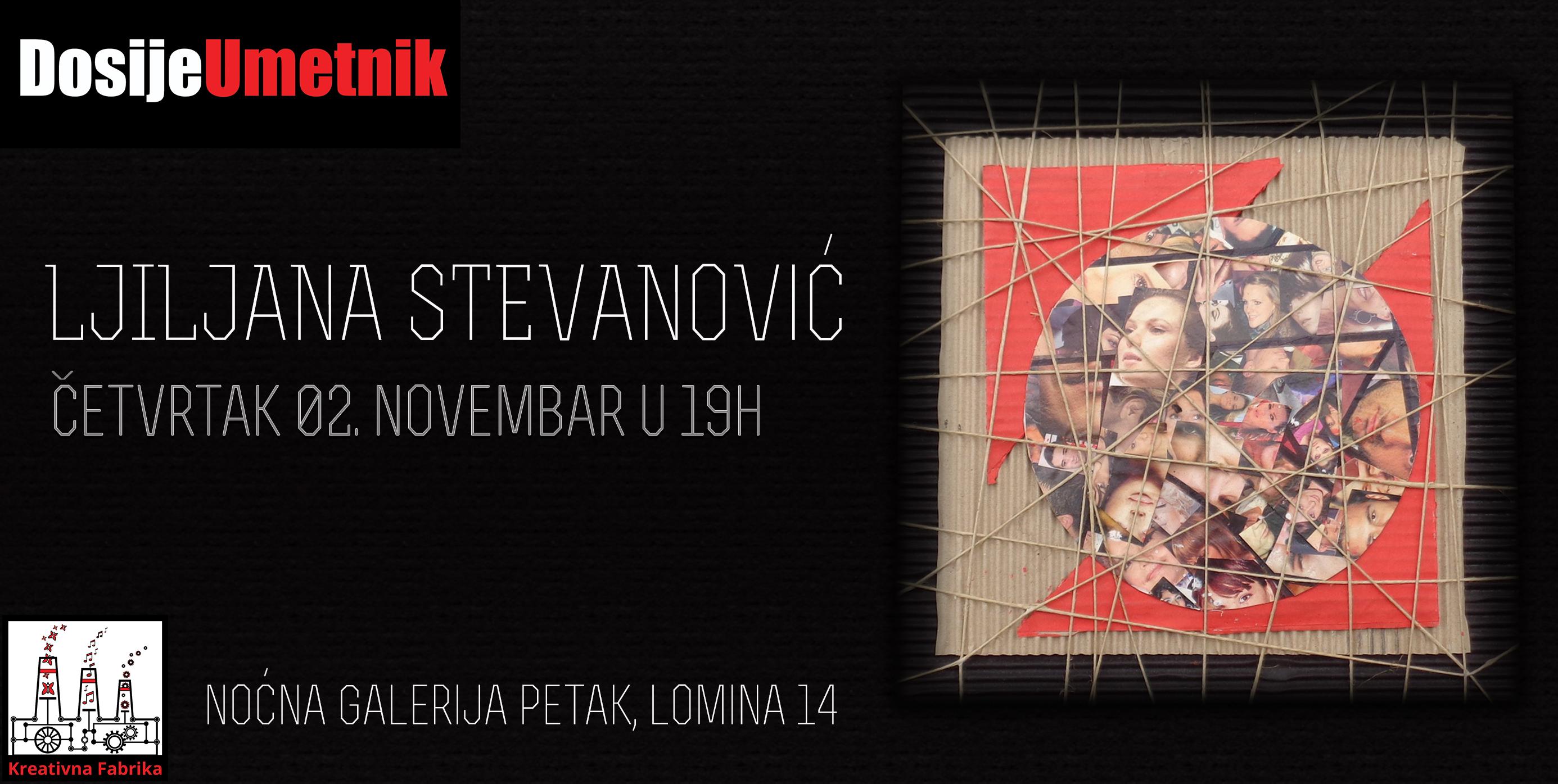Noćna galerija Petak: Izložba Ljiljane Stevanović