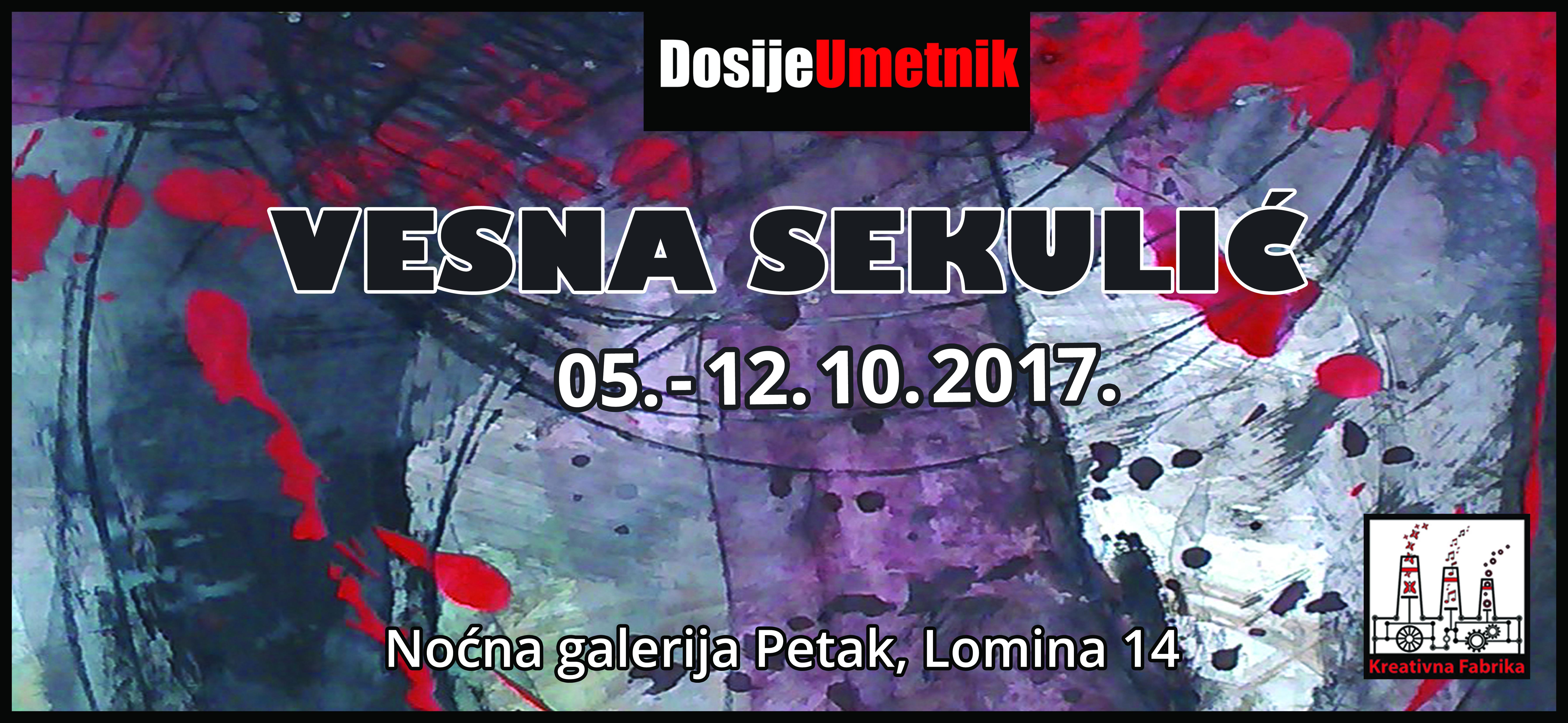 Galerija Petak: izložba crteža Vesne Sekulić