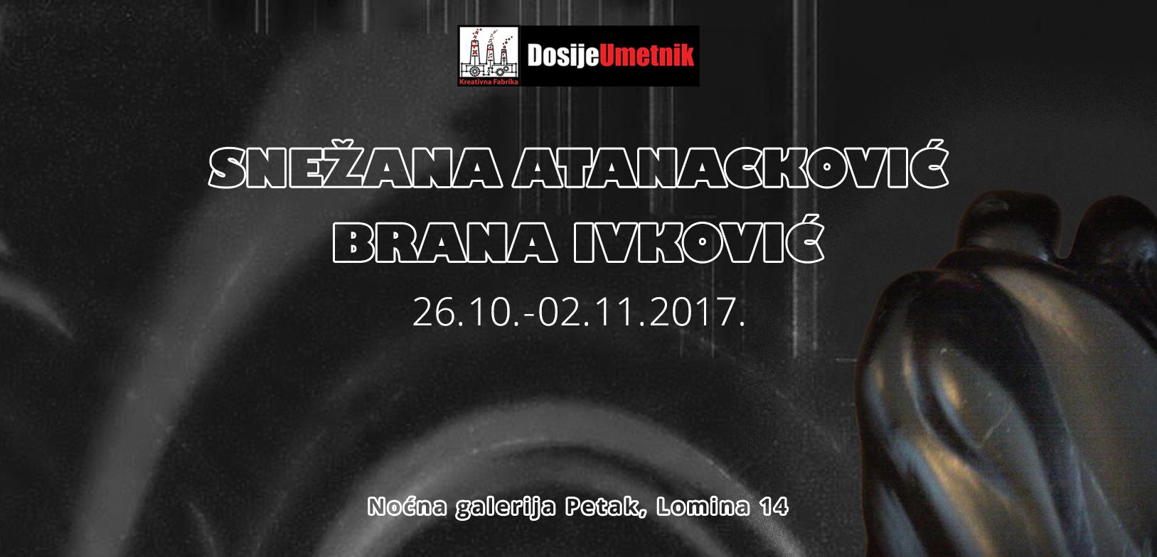 U galeriji Petak izlažu Brana Ivković i Snežane Atanacković