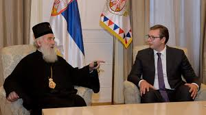 Patrijarh Irinej razgovarao sa Vučićem