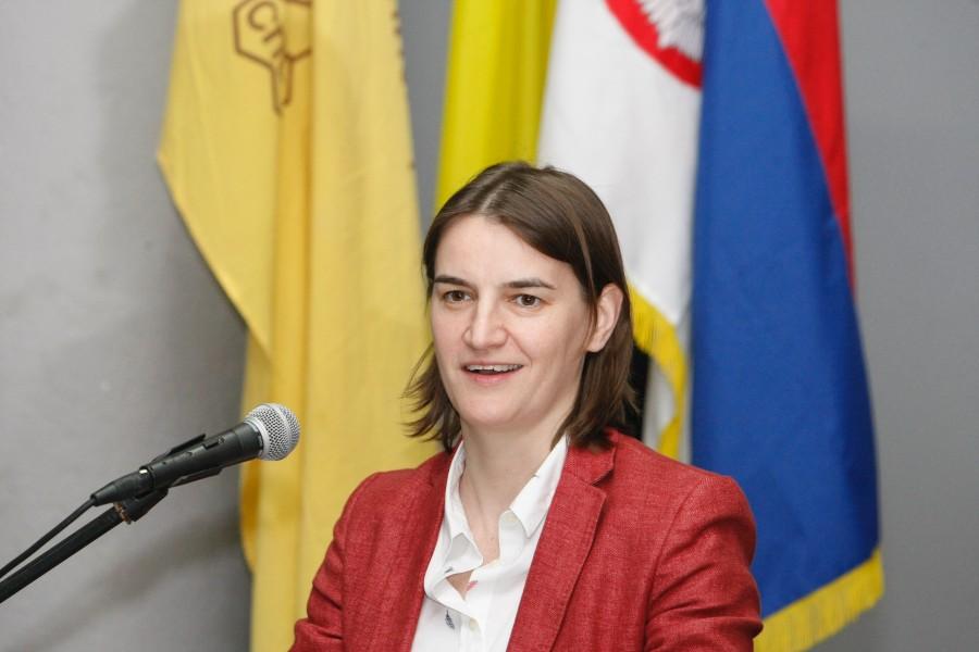 Ana Brnabić medijima: optužujte mene, a ne mog brata!