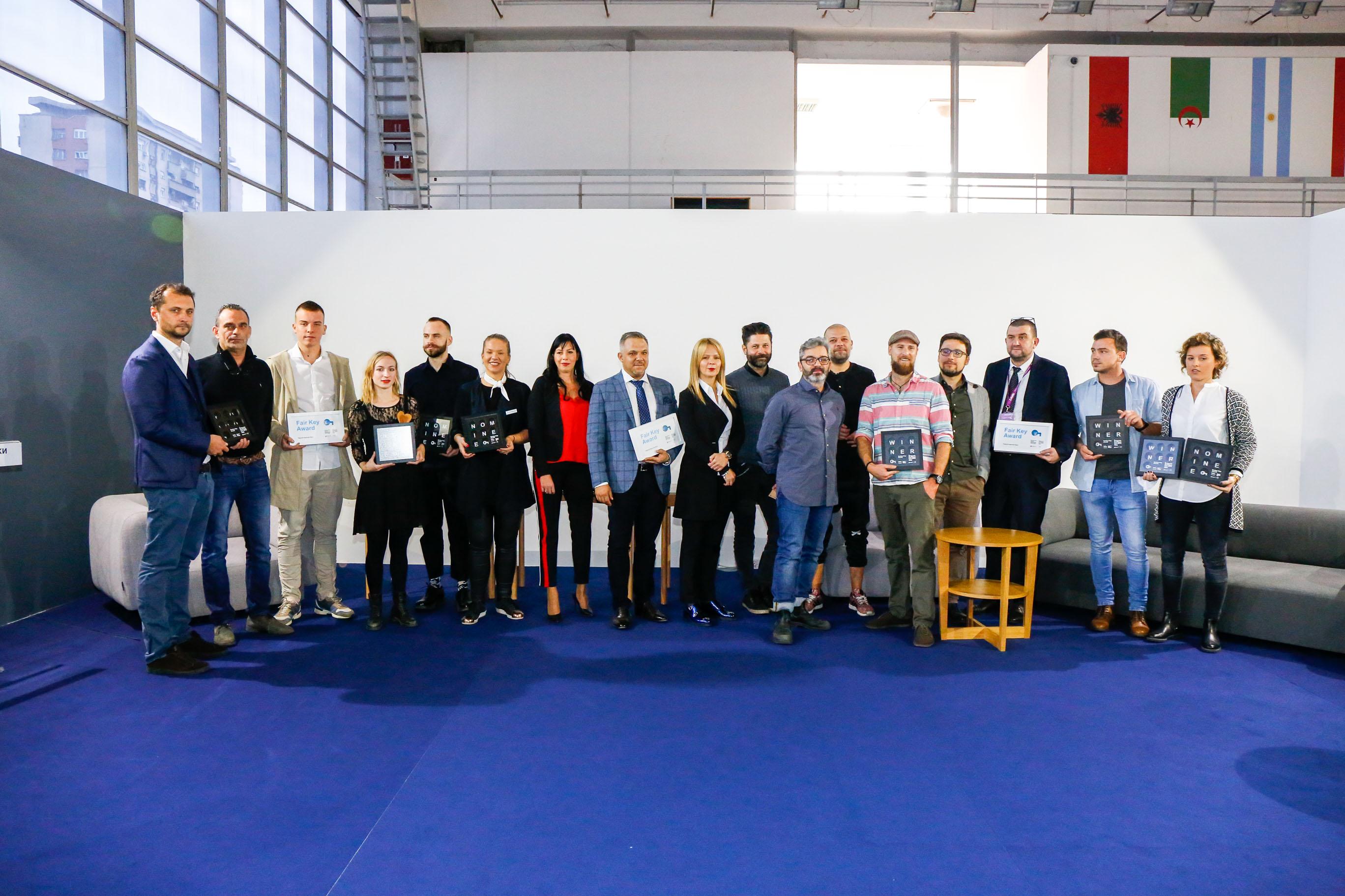 Beograd: Dodeljene nagrade na Sajmu nameštaja
