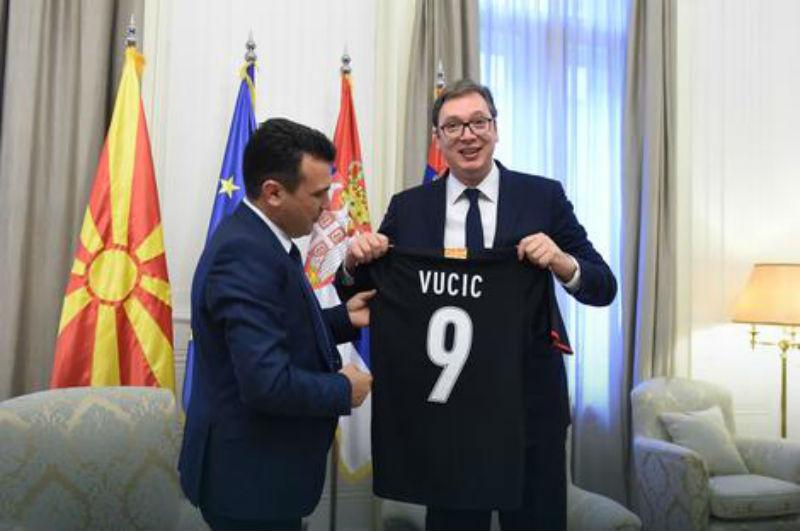 Premijer Makedonije Zoran Zaev u Beogradu: probleme ne stavljamo ispod tepiha!