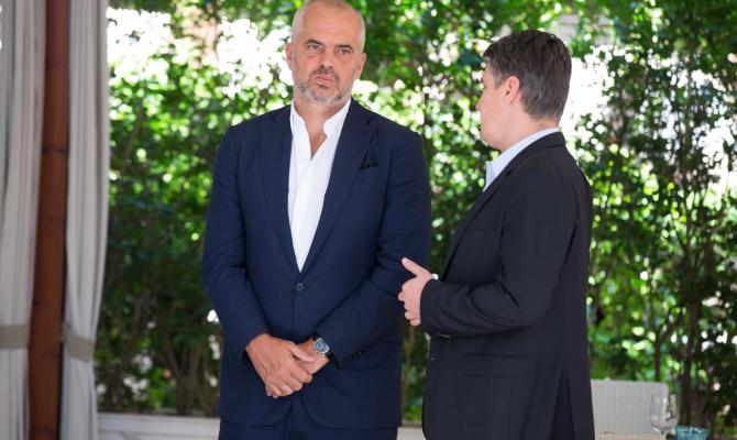 Tirana: Zoran Milanović savetnik Edija Rame!