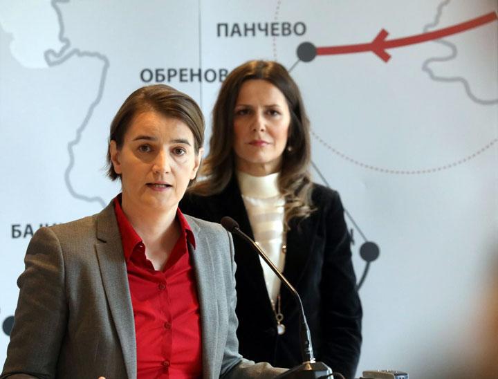 Svečanost u Elektromreži Srbije: Transbalkanski koridor pušten u rad