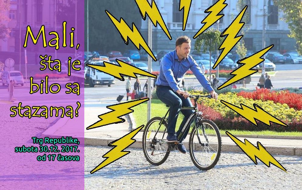 U subotu biciklisti protestuju: ništa od obećanih biciklistički staza!