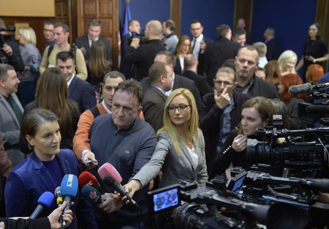 Vlada: novogodišnji prijem za predstavnike medija