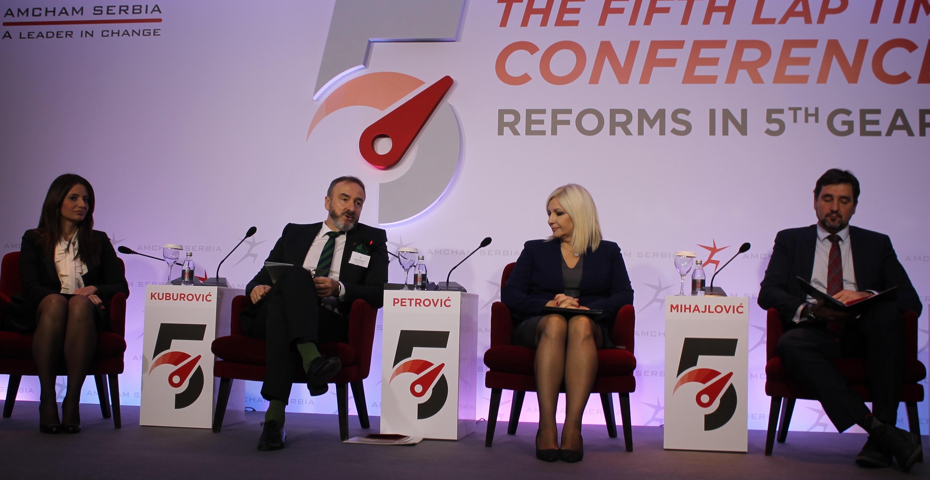 Američka privredna komora pohvalila reformske procese Srbije