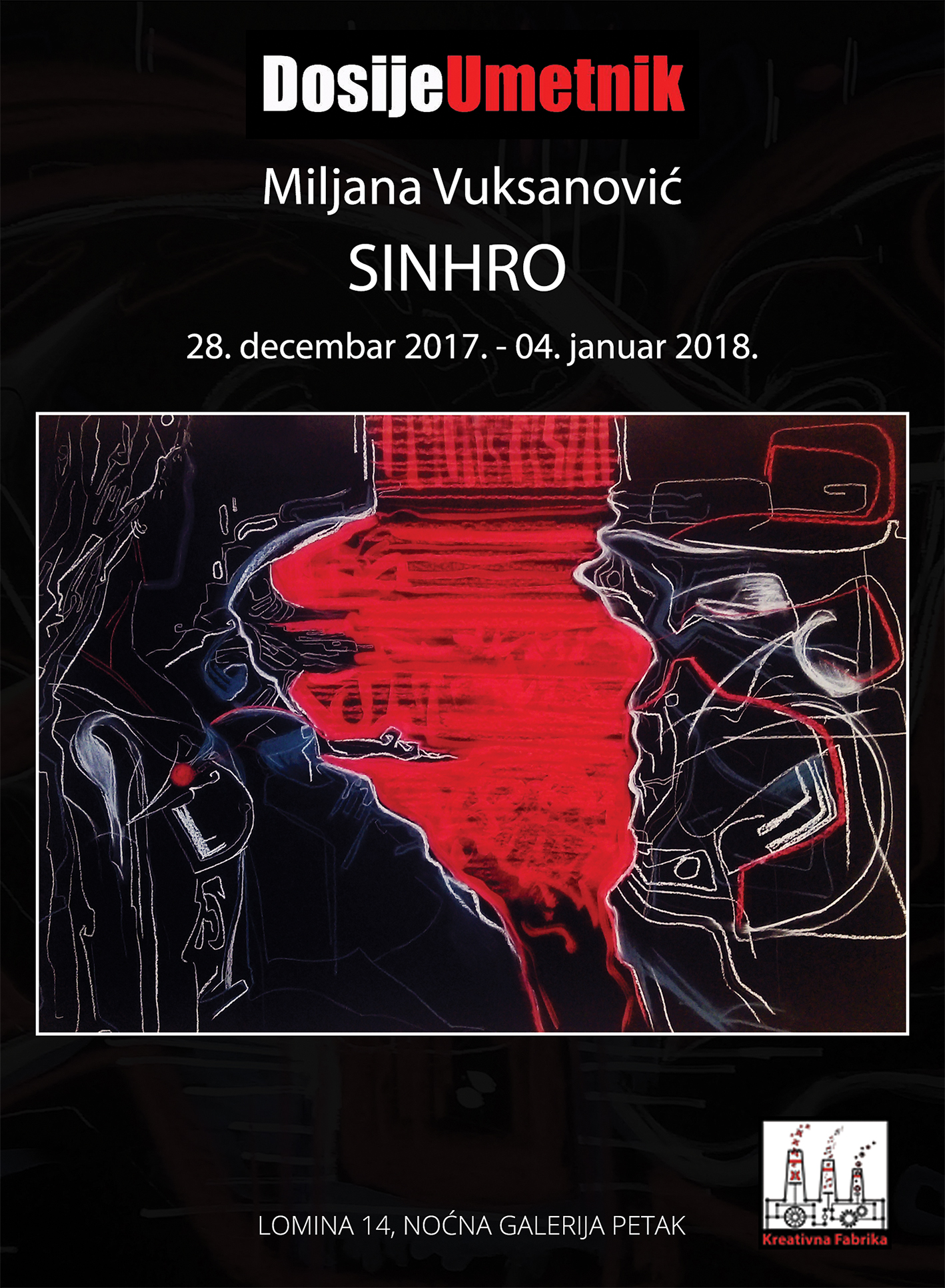 Od sutra u galeriji Petak izlaže Milijana Vuksanović