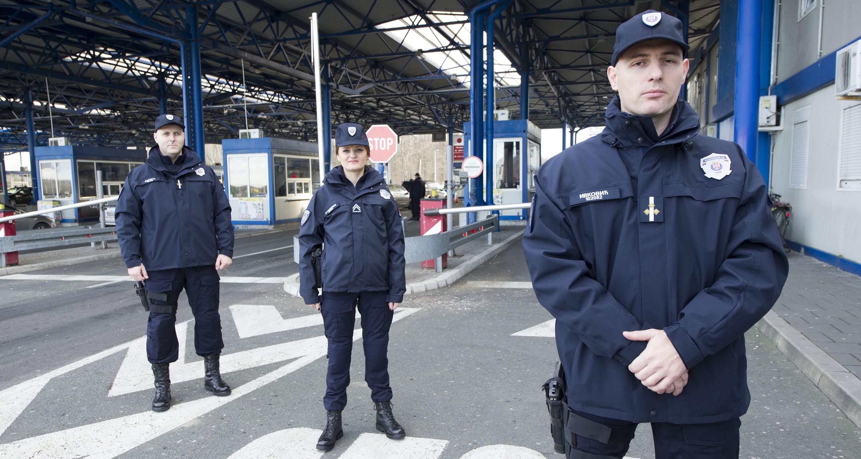 MUP: nove uniforme granične policije